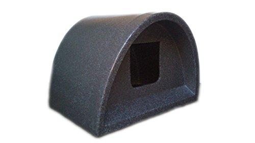 Cosy Cages maison de chat en plein air avec entrée carrée en gris