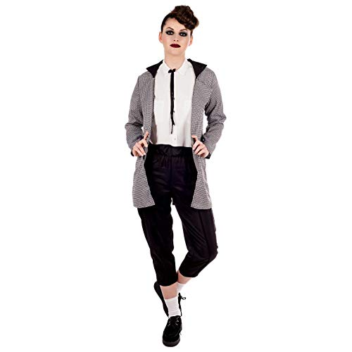 Fun Shack Damen Costume Kostüm, Teddy Boy, - Teddy Boy Kostüm