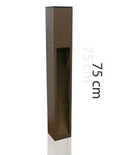 Wegeleuchte, Rostleuchte, 75cm, rost, Eco_Stand 6 10179