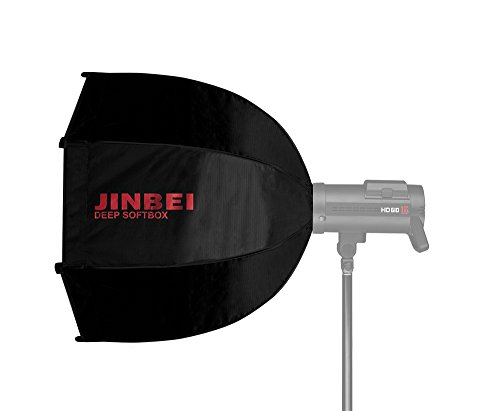 Jinbei Deep Softbox 70 cm – Octabox für mobile Blitzgeräte