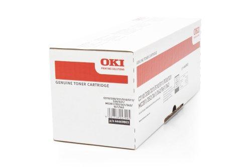 Original Toner OKI C310 44469803 - Premium Drucker-Kartusche - Schwarz - 3.500...