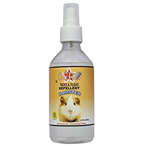 CERO 100% Natural Ticks, Fleas & Mites Repellent Spray for Hamster (200ml)