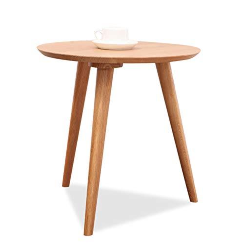 Mesa Auxiliar Mesa de comedor Mesa de té Mesa de centro de madera maciza de estilo japonés, sala de estar Protección del medio ambiente Mesa de comedor Sala de reuniones Mesa de centro simple