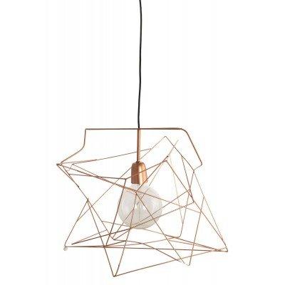 Lampe Suspension Asymmetric Cuivre House Doctor