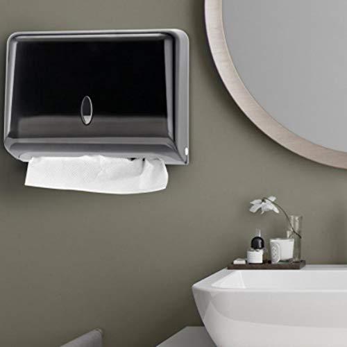 TMMDZZ Schublade Veranstalter Badezimmer wasserdichte Kunststoff Box Toilette Papier Wand Montiert Aufbewahrung Box Serviettenspender Fernbedienung Halter (Design House Wc-papier-halter)