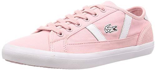 Lacoste Damen Sideline 119 1 Cfa Sneaker, Pink (Lt Pnk/Wht 208), 36 EU