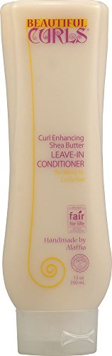 Beautiful Curls, Curl Enhancing Shea Butter Leave-in Conditioner, 12 oz. by Alaffia BEAUTY (English Manual)