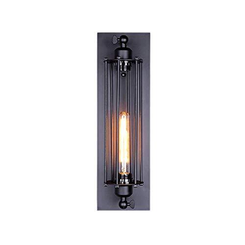 Guancy Kreative europäische Bett-Balkontreppenleuchte der Designer-Lampe schmiedeeiserne Teufelinsel-Wandlampe (Rustikale Schmiedeeiserne Lampen)