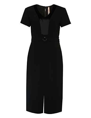 Marc Cain Additions Fa 21.08 W16, Robe Femme Noir - Noir