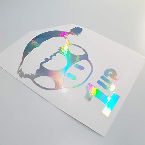 folien-zentrum 1 Up Mushroom Winter Metallic Effekt Hologramm Oilslick Rainbow Flip Flop Shocker Hand Auto Aufkleber JDM Tuning OEM Dub Decal Stickerbomb Bombing Sticker Illest Dapper Fun Oldschool