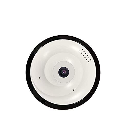 SHENGY HD WiFi IP Security Home Network Domkamera, für die Innenüberwachung, Fisheye 360 ° Indoor Dome mit Night Vision Motion Detection 2-Way Audio,Americanstandardplug Adt Alarm