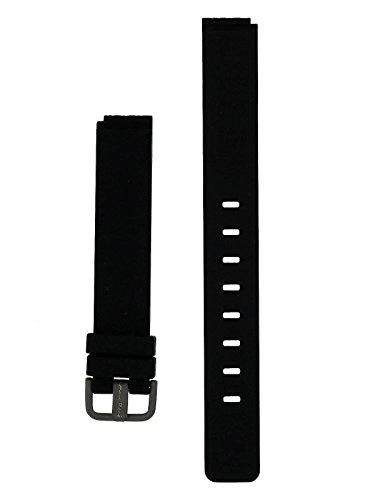 Bering Max Rene Armband Silikon Titan Schliesse 14 MM Schwarz - Serie : 12631