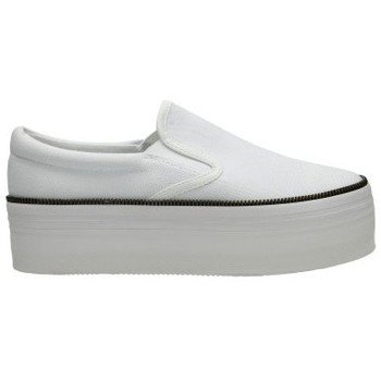 Jc Play By Jeffrey Campbell - Sneaker WTF Zip Canvas / White, Taglia: 39