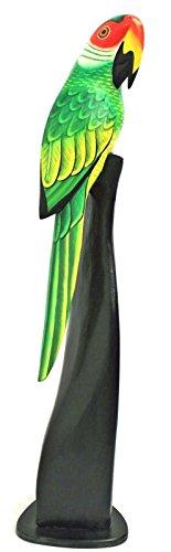 Vogel 40 cm aus Holz Tukan Papagei Sittich Kakadu Ara Holz Tier Figur Deko