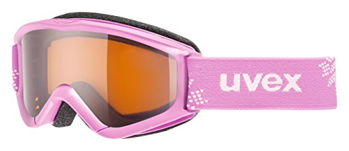 Uvex Speedy Pro Kinder Skibrille, rosa (pink-Snowflake), One size