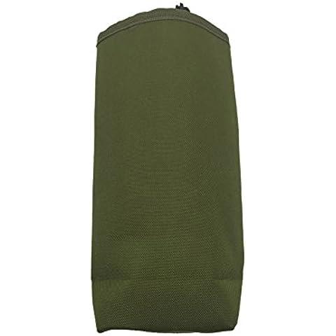 Dasking Molle Borsa Porta Bottiglia Nylon Bottle Bag Pacchetto Tattico Molle Borsetta Borsa Porta Bottiglia (Verde 750ml Bottiglia)