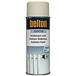 RAL 9001 CREME RADIAT Hte Temp (BELTON) (Bombe Peinture 400 ml) - Peinture Auto K resistante Hautes températures entre 300 et 800 degrés C pour applications diverses.