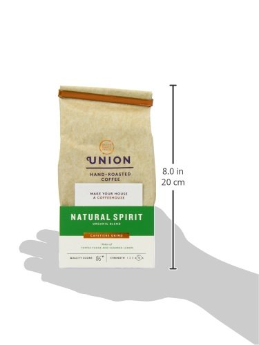 Union Organic Natural Spirit Whole Bean Blend Coffee 200 g (Pack of 3)