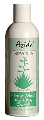Azida Hempseed Oil Face & Body Scrub from Azida