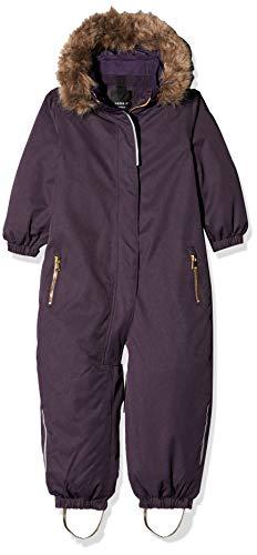 NAME IT Nmfsnow10 Suit 1fo Traje de esquí, Morado Mysterioso, 125 (Talla del Fabricante: 110) para Niñas
