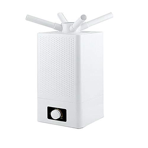 Humidifier Industriel à Ultrasons PulvéRisateur Double CœUr RéGlable à 360 Commercial Polyvalent Au Sol
