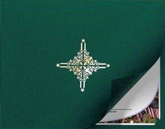 Zertifikat und Dokument Präsentation Ordner mit Gold Folie Wellendichtring, grün (Paket von 5) (Gold-folie-zertifikat Dichtungen)