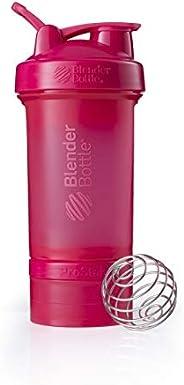 BlenderBottle Prostak Protein Shaker/Diät Shaker (650ml, skaliert bis 450ml, mit 2 Container 150ml & 100ml