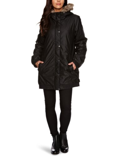 Bench Damen Jacke Parka Wandry Schwarz (black) Medium