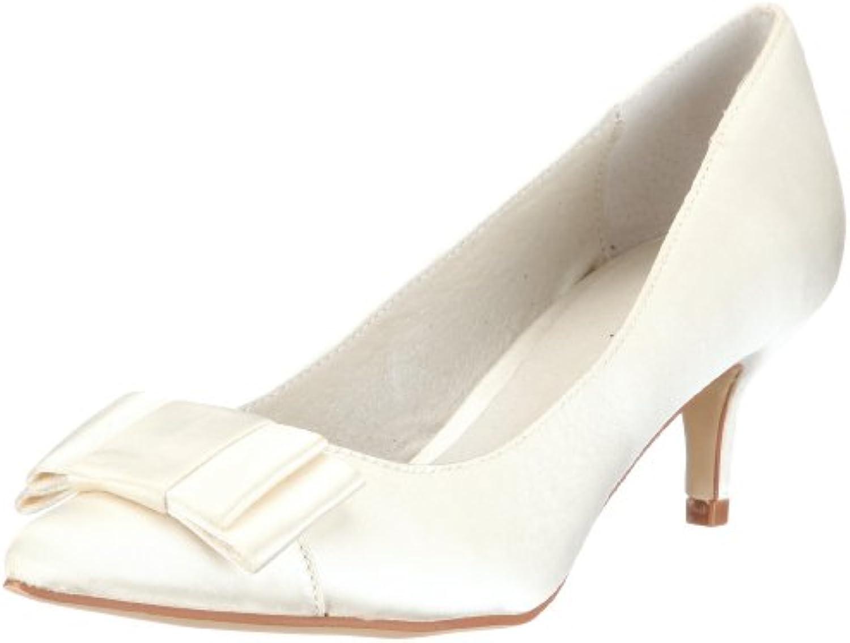 Menbur Wedding Galatea 04759 - Zapatos de novia de tela para mujer