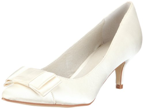 Menbur Wedding Galatea 4759 Damen Pumps Elfenbein (Ivory 04)
