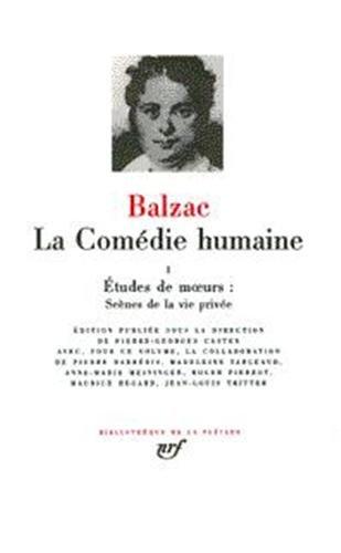 Balzac : La Comédie Humaine, tome 3
