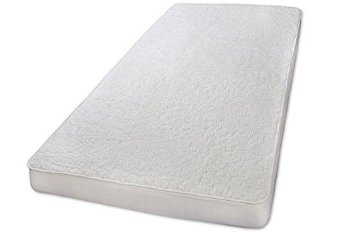 Unterbett Lammflor mit Schurwolle Auflage Spannbett-Matratzenauflage 90x200 Louis