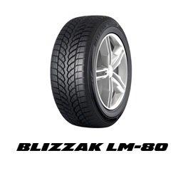BRIDGESTONE 275/40 R20 106V LM80 XL 4X4 WINTER/INV -40/40/R20 106V - C/C/73dB - Pneu d'Hiver
