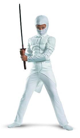 Disguise G.I. Joe Retaliation Storm Shadow klassische Muscle Chest Kost-m Kind 4 - 6 (Storm Shadow Kostüm)