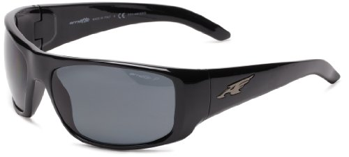 Arnette Herren 0AN4179 41/81 66 Sonnenbrille, Schwarz (Black/Polargray),