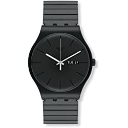 Swatch Reloj Digital de Cuarzo para Hombre con Correa de Plástico – SUOB708B
