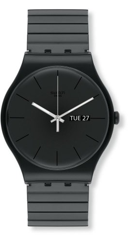 Swatch Orologio da Uomo Digitale al Quarzo con Cinturino in Plastica – SUOB708B