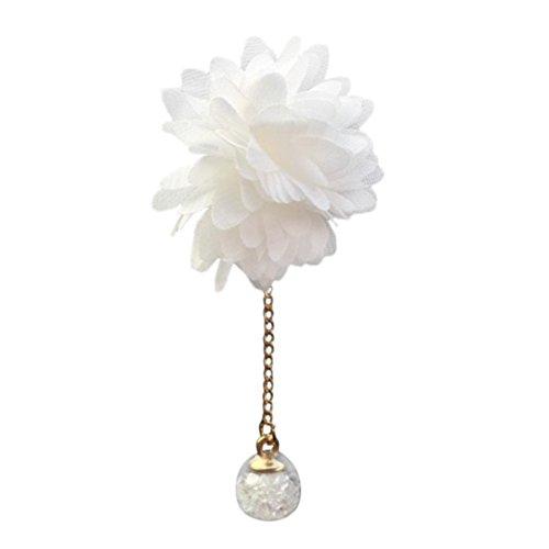 Clip de parfum, Hunpta Voiture Loving Cadeau prise d'air parfumé Diffuseur de parfum Désodorisant Fleur Camélia
