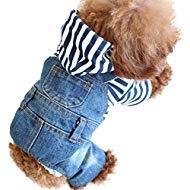 SILD Peto Vaquero con Camiseta para Perro pequeño o Gato, de la...