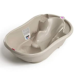 OKBaby Onda 3-in-1 Multi-Stage Baby Bath, Taupe