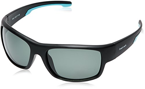 Fastrack UV Protected Wrap-Around Men\'s Sunglasses (P314GR2P|59|Green)