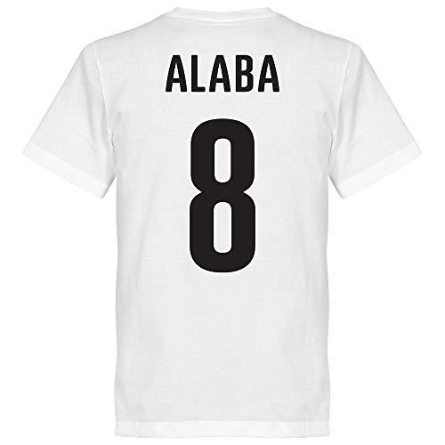 Österreich Alaba 8 Team T-Shirt - weiß - XXXL