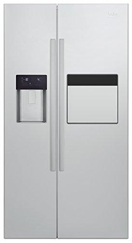 Beko GN 162531 ZFX Side-by-Side / A++ / 182 cm Höhe / 176 L Gefrierteil / NeoFrost / Multifunktionsdisplay mit Sensortasten / Quick Ice / Antibakterielle Türdichtungen / Umluftkühlung / Automatische Abtauung