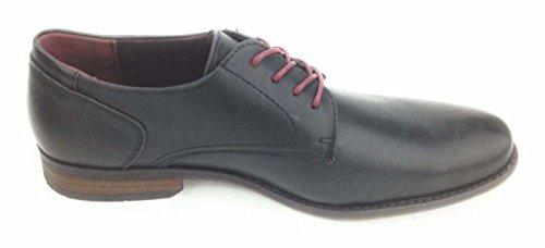 TOM TAILOR  2780301/00001, Chaussures de ville à lacets pour homme 00001Black