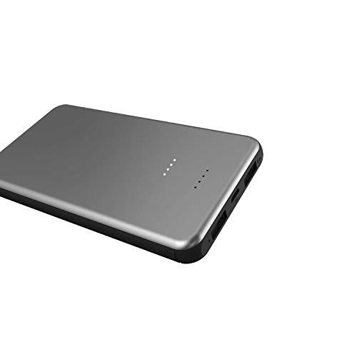 Shizhen Mobiles Netzteil: 10000 MA-Notebook Mit Aluminiumgehäuse Zum Aufladen 8000 mA/Grau