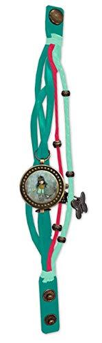 CYP Armbanduhr Vintage GORJUSS-I Stole Your Heart Mehrfarbig (W-08-G