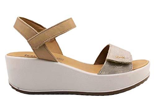 IGI&CO Sandalo Donna MOD. 31731 Platino 36