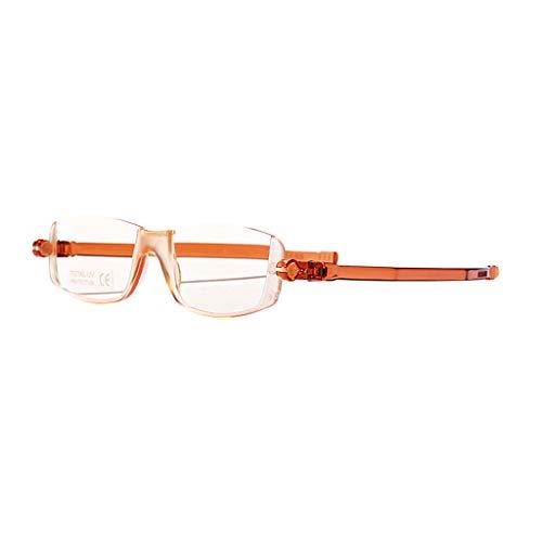 FEIYUESS Lesebrille, Anti-Blaue Lichtstrahlung, dünne und Stilvolle Augenschutzbrillenleser (Farbe : H, größe : 2.0X)