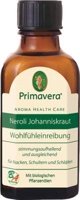 NEROLI ÖL Johanniskraut Wohlfühleinreibung 50 ml Öl