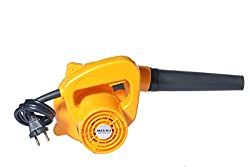 Small Portable Best Multifunctional Lightweight Handheld Electric High Speed Rotary Air Blower Fan Machine for Domestic Home and Industrial Cleaning. Color-Yellow. MAA-KU